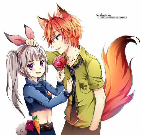 zootopia version manga