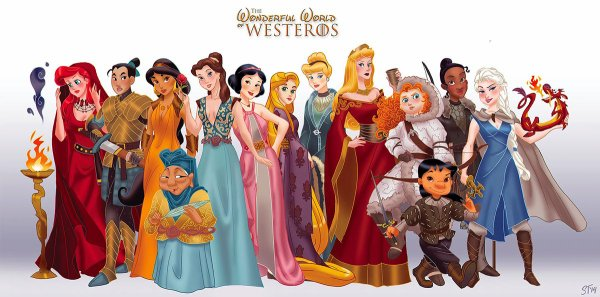 disney en mode game of thrones