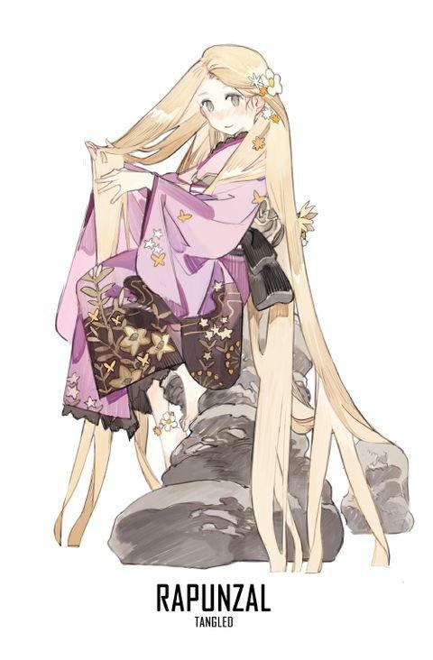 disney en kimono