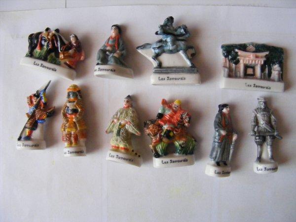 echange serie les samourais