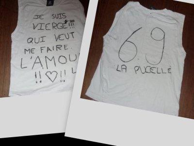 haaaahh mon tee-shirt!!!