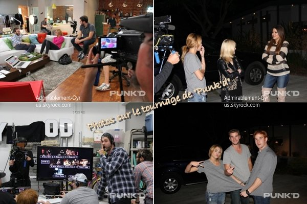 16/05/2012 - Miley, Brandi, Tish & Happy quittant leur hôtel à Miami Beach (FL) pour aller je-sais-où.  TOP pour la tenue qui est assez simple mais jolie.   On peut voir qu'une foule de fans et paparazzis sont présent devant son hôtel. Ce que j'aime particulièrement chez Miley est que malgré où elle soit, elle essaye de passer un maximum de temps avec ses fans et de leur faire plaisir.