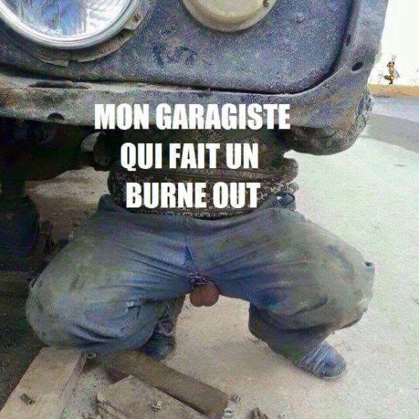 humour pour garagiste