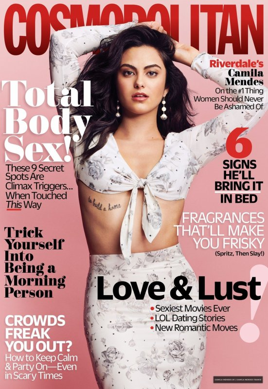 Photoshoot/Magazine 2018 - Camila fait la couverture du mois de Janvier 2018 pour COSMOPOLITAN MAGAZINE