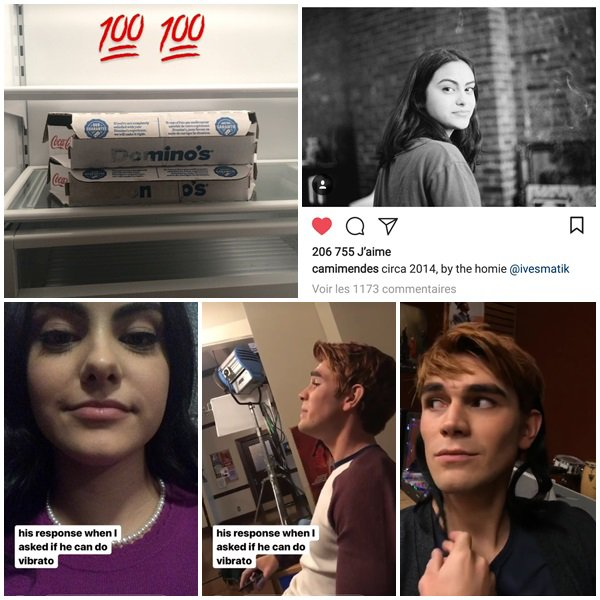 27 au 30 Janvier 2018 - Camila a posté sur son Insta story. Elle est en ce moment sur le tournage de Riverdale