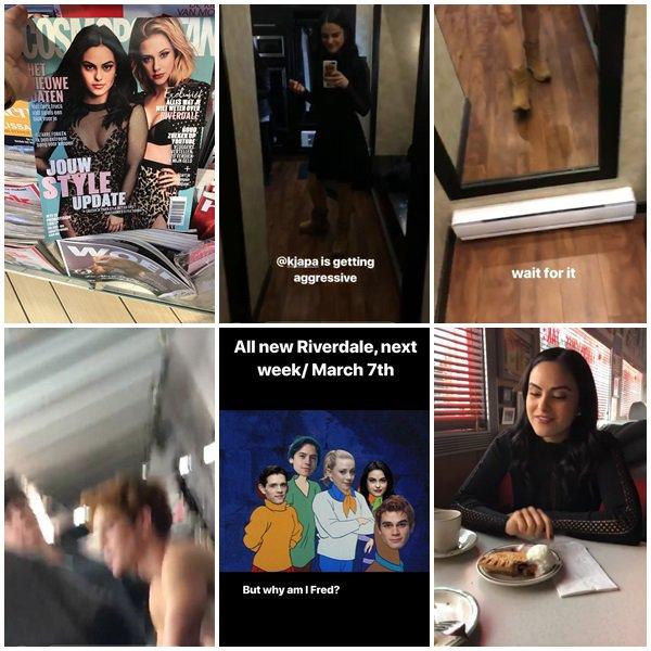 Du 26 Février  au 3 Mars 2018, Camila a posté des photos sur ses réseaux sociaux