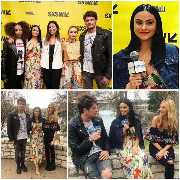 """11 Mars 2018 - Camila était au SXSW FESTIVAL à AUSTIN, TEXAS pour promouvoir son nouveau film """"The New Romantic"""""""