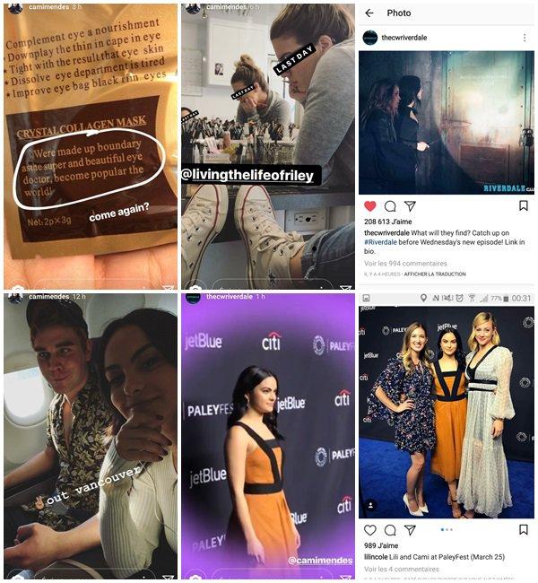 25 Mars 2018 - Camila et le cast de Riverdale étaient au 'RIVERDALE' TV SHOW PRESENTATION AT PALEYFEST à LOS ANGELES