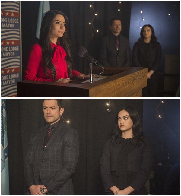 Vidéos et les stills promotionnels de l'un des prochains épisodes de #Riverdale le 2x20 Shadow of a Doubt
