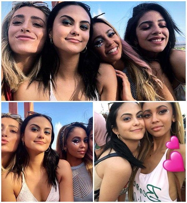 14 Avril 2018 - Camila était au Festival Coachella à Palm Springs et à la fête organisé par H&M