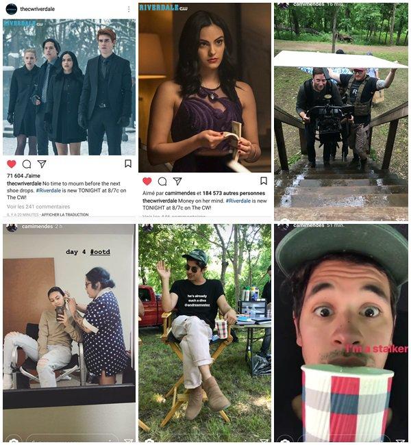 """Du 24 Avril au 1er Mai 2018, Camila a posté des photos sur son Insta. Camila est sur le tournage du film """"Coyote Lake"""""""