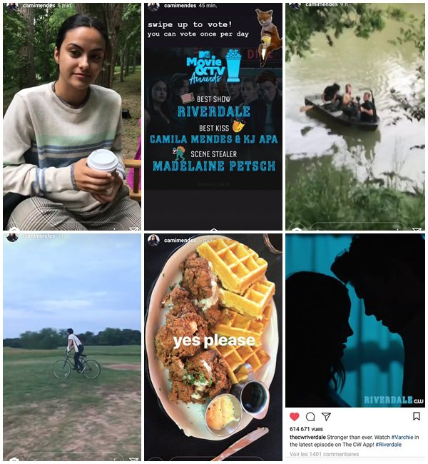 """Du 2 au 12 Mai 2018, Camila a posté sur son Instagram. Elle était sur le tournage de son nouveau film """"Coyote Lake"""""""