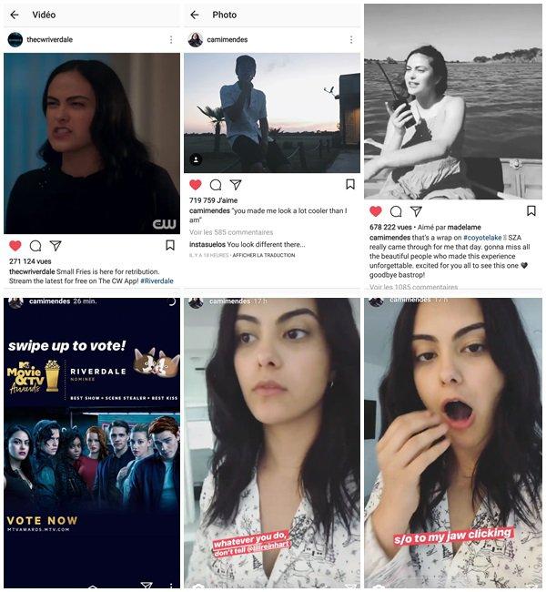 """Du 12 au 16 Mai 2018, Camila a posté sur son Instagram. Elle a fini le tournage du film """"Coyote Lake"""". Puis le 16 Mai 2018, elle est arrivée à New York pour l'évènement """"CW Upfront"""" du lendemain"""