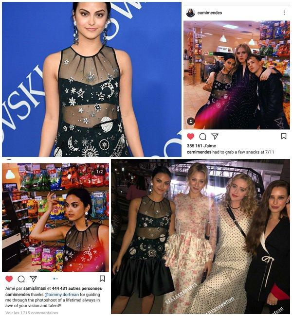 4 Juin 2018 - Camila était au CFDA FASHION AWARDS AT BROOKLYN MUSEUM à NEW YORK CITY