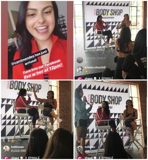 23 Juin 2018 - Camila était au SHAPE's 3rd Annual SHAPE Body Shop Pop-Up à Los Angeles