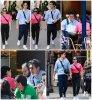 31 Mai 2019 - Camila Mendes et Charles Melton dans les rues de Paris