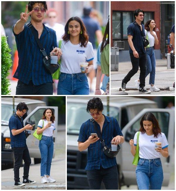 24 Juin 2019 - Camila et Charles se promènent dans les rues de New York