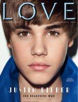 """Justin pose pour le magasine """" Love """""""