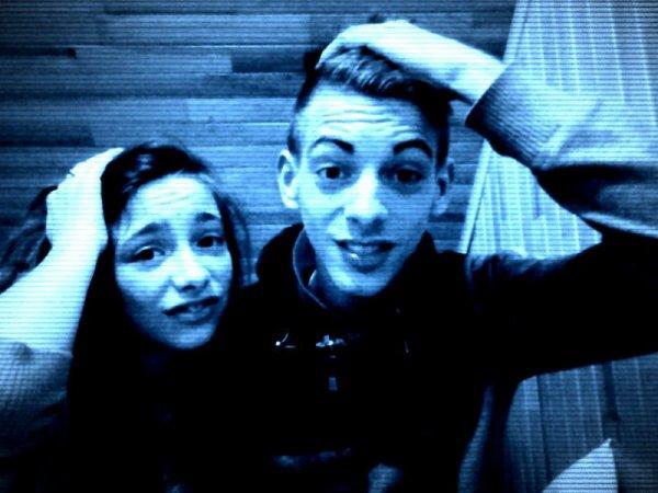 moi et mon cousine Lorry