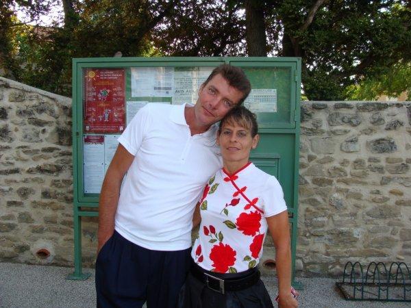 Moi et ma femme que j'adore