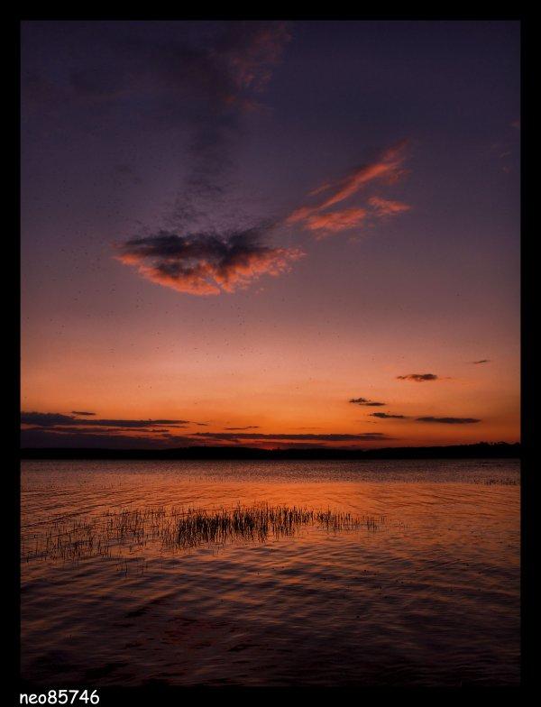 lundi 21 février 2011 16:39. et couché de soleil special!!