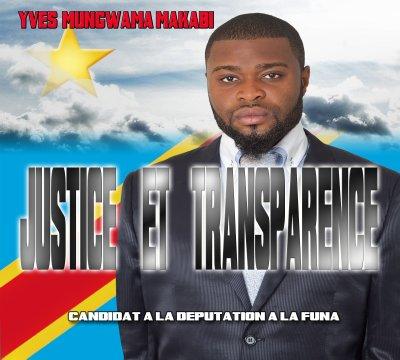 JUSTICE ET TRANSPARENCE A LA FUNA AVEC LE JEUNE DÉPUTÉ YVES MAKABI MUNGWAMA