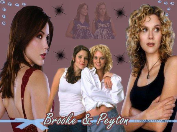 Brooke et Peyton