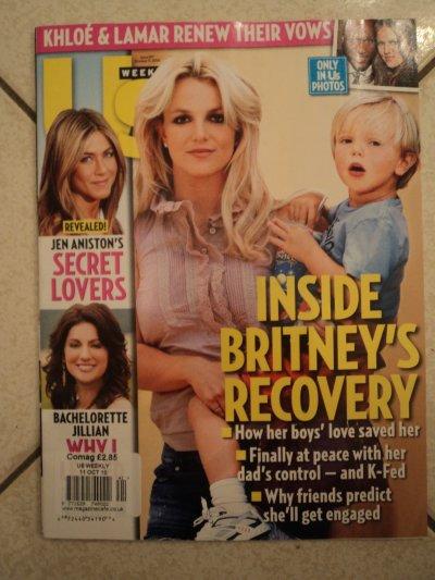 """Britney dans """"US weekly"""""""