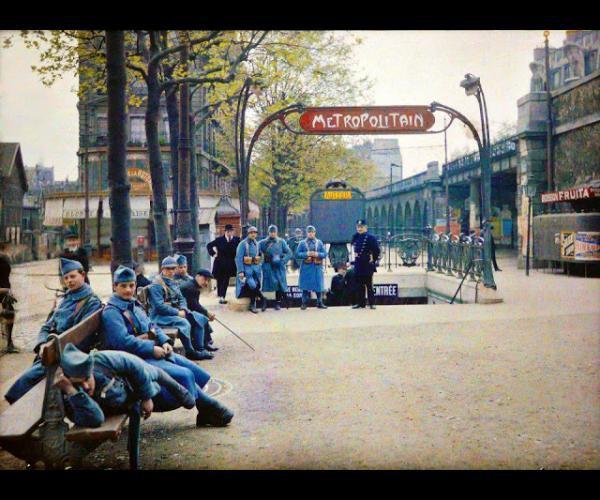 Paris début du siècle !
