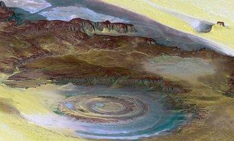 L'oeil du Sahara !