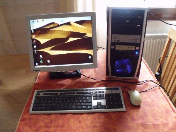 Pc-écran-souris-clavier
