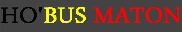 Logo HO'BUS MATON