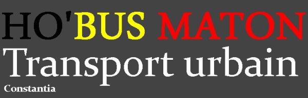 Logo HO'BUS MATON - Bus de ligne