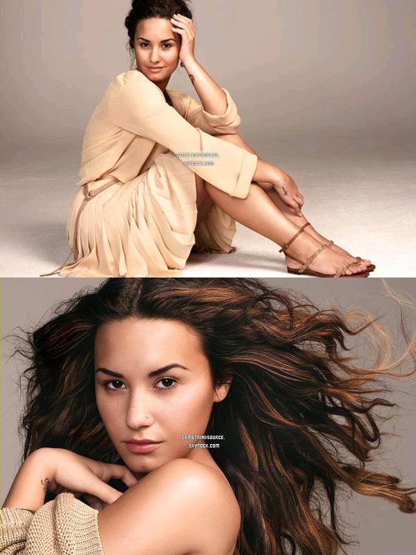 """. Voici 6 nouveaux photos pour """"Glamour magazine"""" que Demi a fait en 2011. Elle est superbe J'adore c'est naturelle et superbe, j'aussi mis les 4 autres photos du shoot. ."""