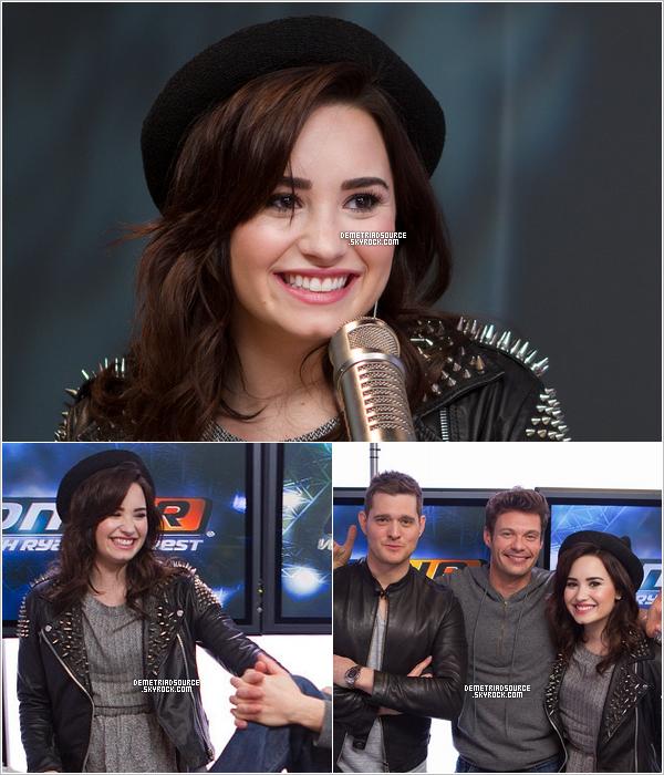 . 26.02.13: Notre belle Lovatoa donné une interview à la radioKIIS FM. Je la trouve très belle j'adore sa tenue surtout la veste, et je kiffe la vidéo 3. Vidéos123 .