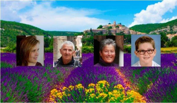 Un petit coucou de notre belle Provence !