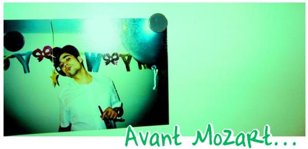 Avant Mozart: Florent Mothe
