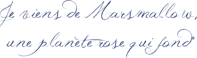 Marque-Page: Mélissa Mars