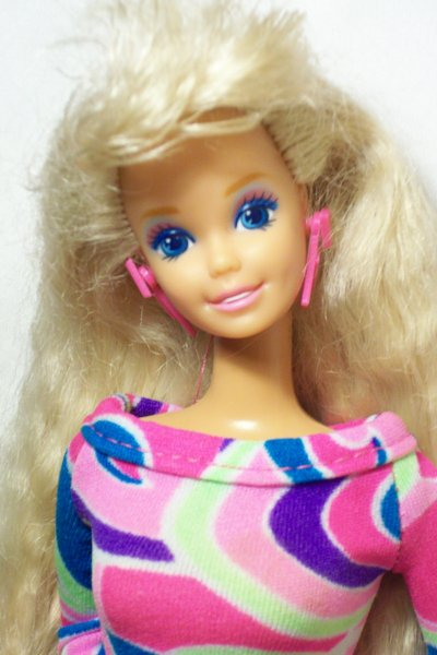 Barbie totally hair 1992