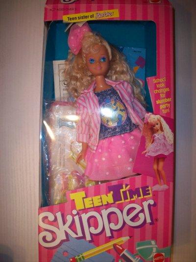 Skipper teen time college 1988