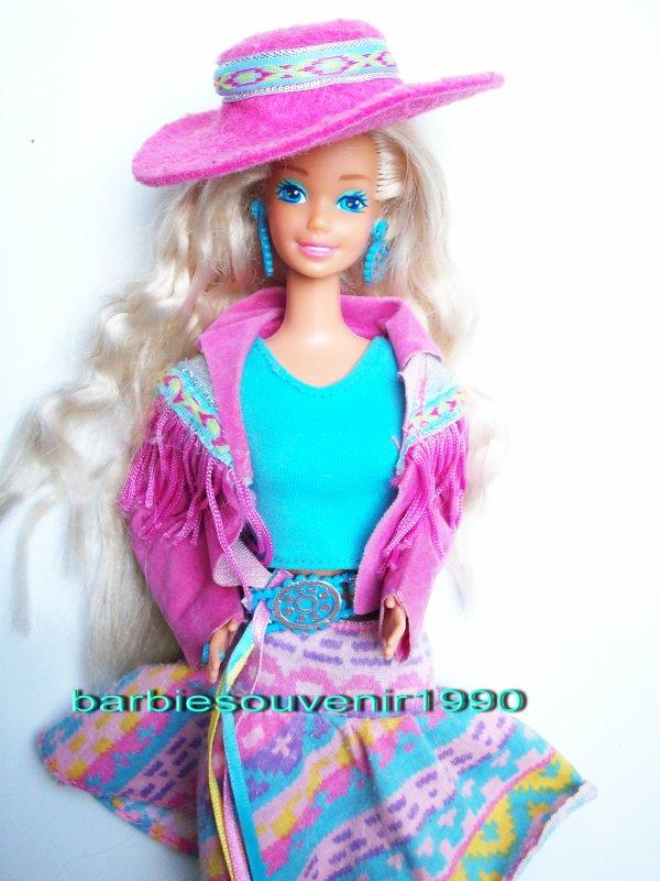 Barbie western fun 1990