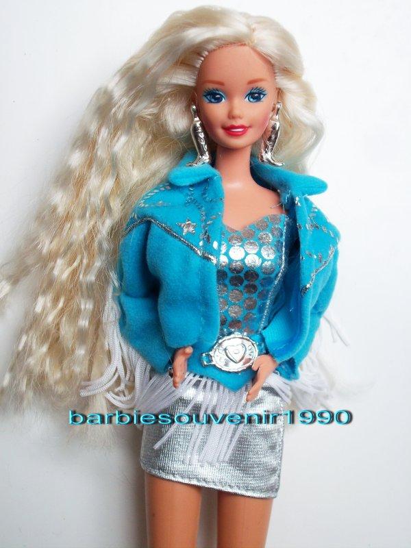 Barbie western stampin 1993
