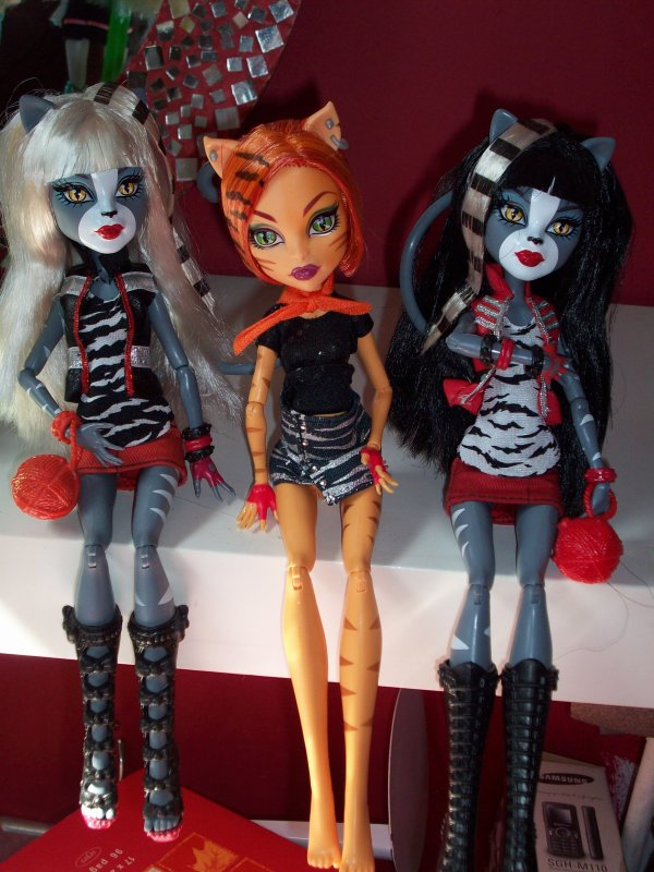 la collection Monster High de ma soeur
