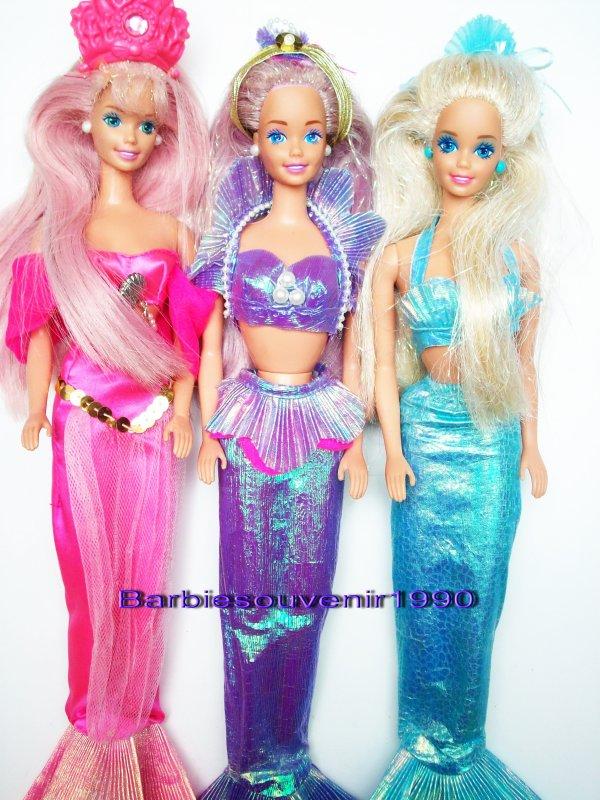 Barbie Magical Hair Mermaid 1993