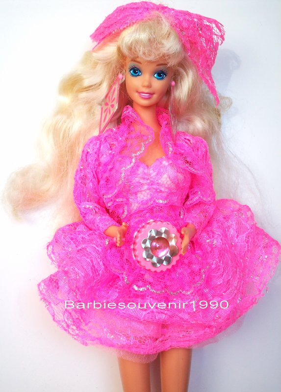 Barbie Lights And Lace 1990