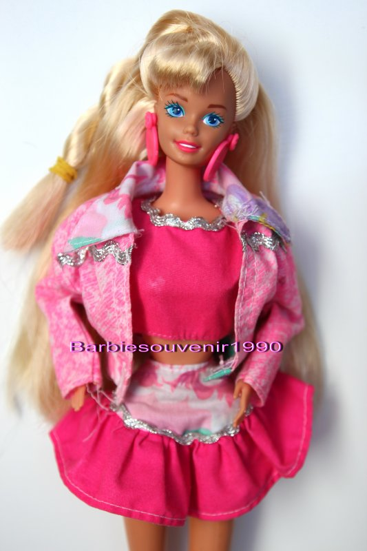 Barbie paint n dazzle 1993