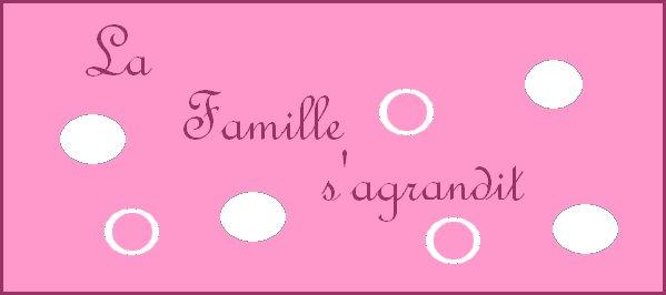 Notre famille s'agrandira pour le mois d'aout 2013