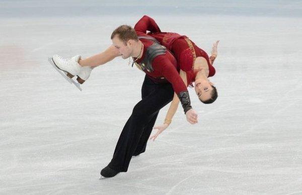 Le patinage en couple