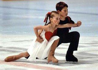 La danse sur la glace