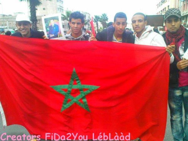 Rajawi GhiR HRoB , Hna MoLoK Cha3b